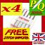 Gratis unpicker sn25 4 Pkts Agujas de Máquina de Coser 705//130R//15X1 Puntada ast Tamaño