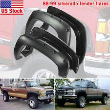 88-98 Chevy Silverado GMC C/K 1500 Pick Up Pocket Rivet Bolt-On Fender Flares