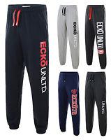 Ecko Unltd Men's Fleece Joggers Jogging Bottoms Sweat Pants Black Blue Grey