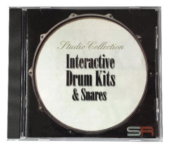Sonic Reality Interactive Drum Kits & Snares (AKAI) - Samples & Loops