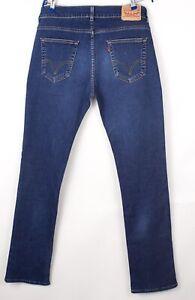 Levi's Strauss & Co Herren 511 Slim Jeans Stretch Größe W38 L34 BCZ967