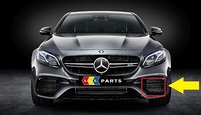 NUOVO Originale Mercedes Benz MB E Class W212 AMG Paraurti Anteriore ABBASSARE Grill Sinistro N//S