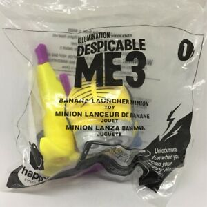 DESPICABLE-ME3-Banana-Launcher-Minion-McDonald-039-s-Happy-Meal-Toy