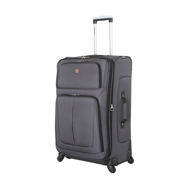 Swissgear Travel Gear 6283 Spinner Luggage 28 Inches Dark Grey