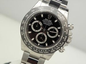 Rolex-Daytona-116500-LN-Mens-Stainless-Steel-Ceramic-Bezel-Black-Dial-40mm-Watch