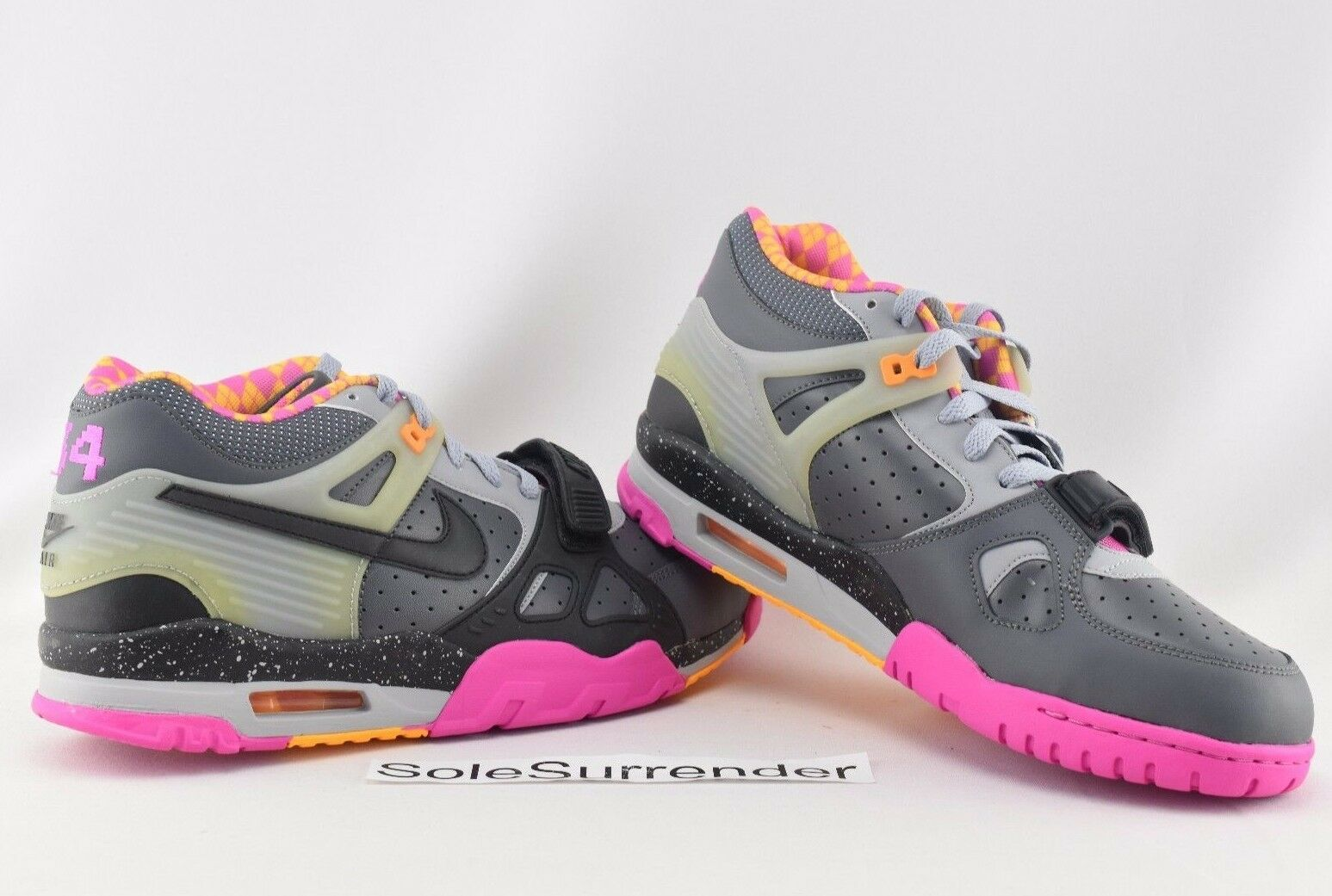 Nike Air Trainer III PRM QS - CHOOSE YOUR SIZE- 682933-001 Bo Knows Horse Racing