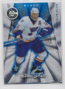 1997-98 Certified Blue Players Club /299 Brett Hull