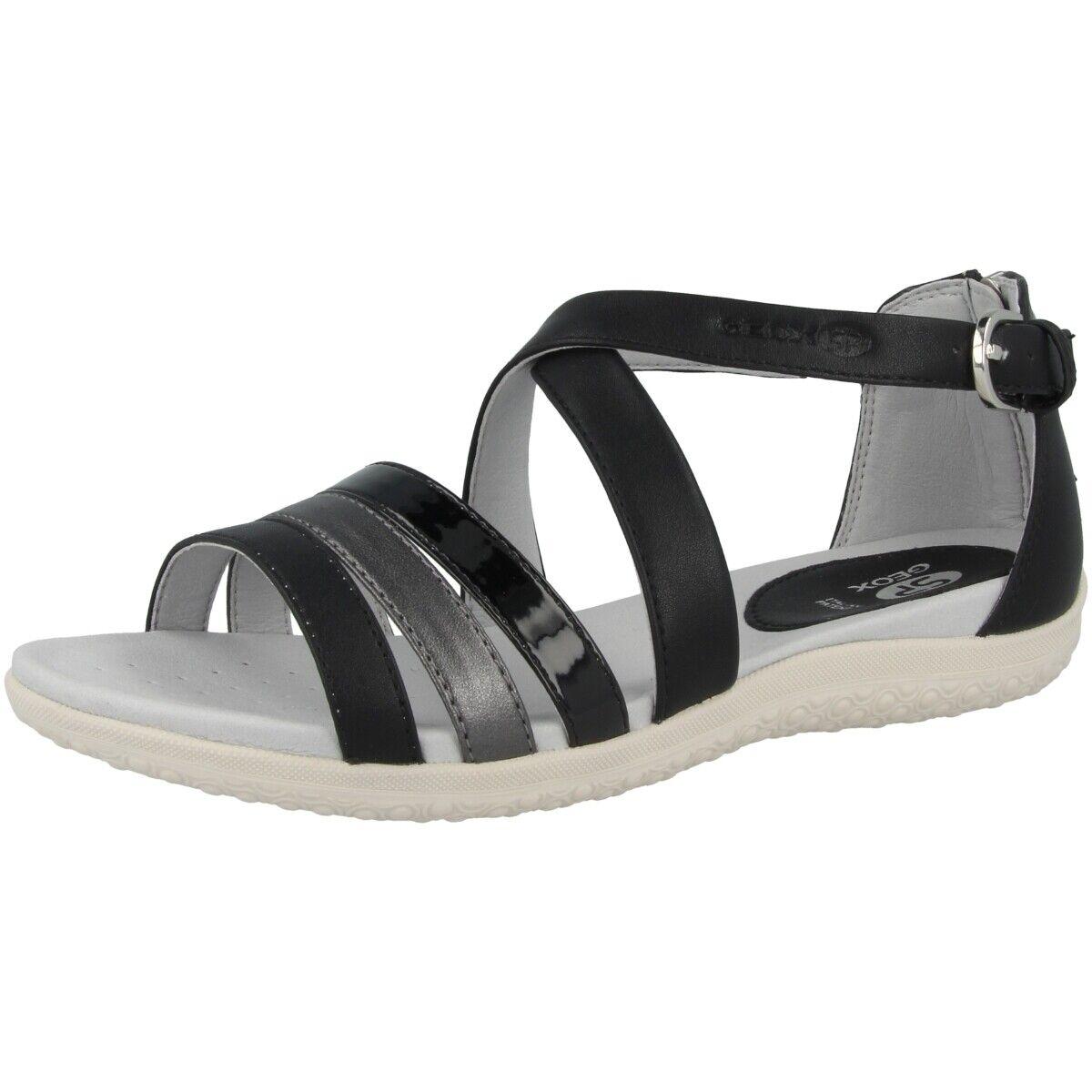 Geox D Sand. Vega B shoes Womens Sandals Outdoor Ankle-Strap D92R6B054AJC0005