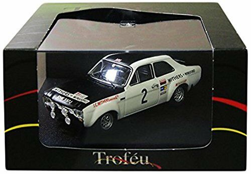 FORD ESCORT RS 1600  2 WINNER Manx Rally 1971 Clark/lliddon 1:43 MODEL Trofeu