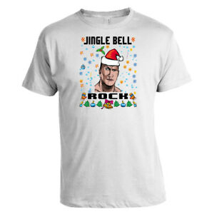 Unisex-Ugly-Christmas-T-shirts-JINGLE-BELL-ROCK