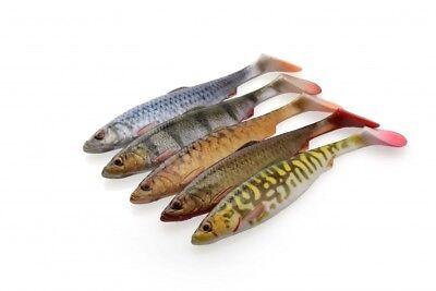 NUOVO Savage Gear 4D Herring Shad tutte le taglie tutti i colori esca da Pesca Predatori Luccio