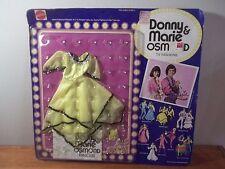 "Vintage 1976 Donny Marie Osmond Fashions /""Starlight Night/"" Yellow Dress 9820 NIB"