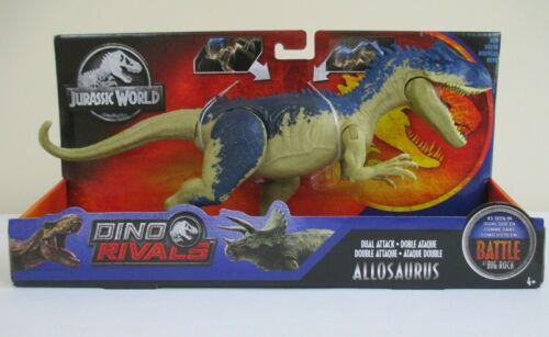 Nouveau Biting Action Moving Queue E environ 27.94 cm Jurassic World Dino Rivaux Allosaurus 11 in