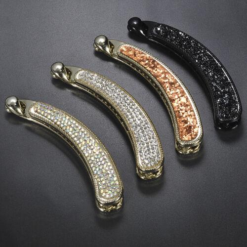 Elegant Women Crystal Rhinestone Hair Clip Claw Clip Hairpin Hair Accessories