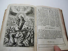 xRARE Book  - Jesus Christ TONS of Engraved Prints - 1607 Ricci -  X RARE