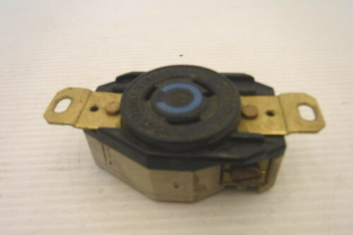 HUBBELL NEMA L6-20R TWIST LOCK RECEPTACLE 20A 250V