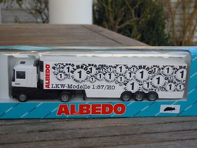 Cars Obliging Albedo 1:87 Renault Lorry Albedo Sammelpunkt Lorry # Boxed Good Taste
