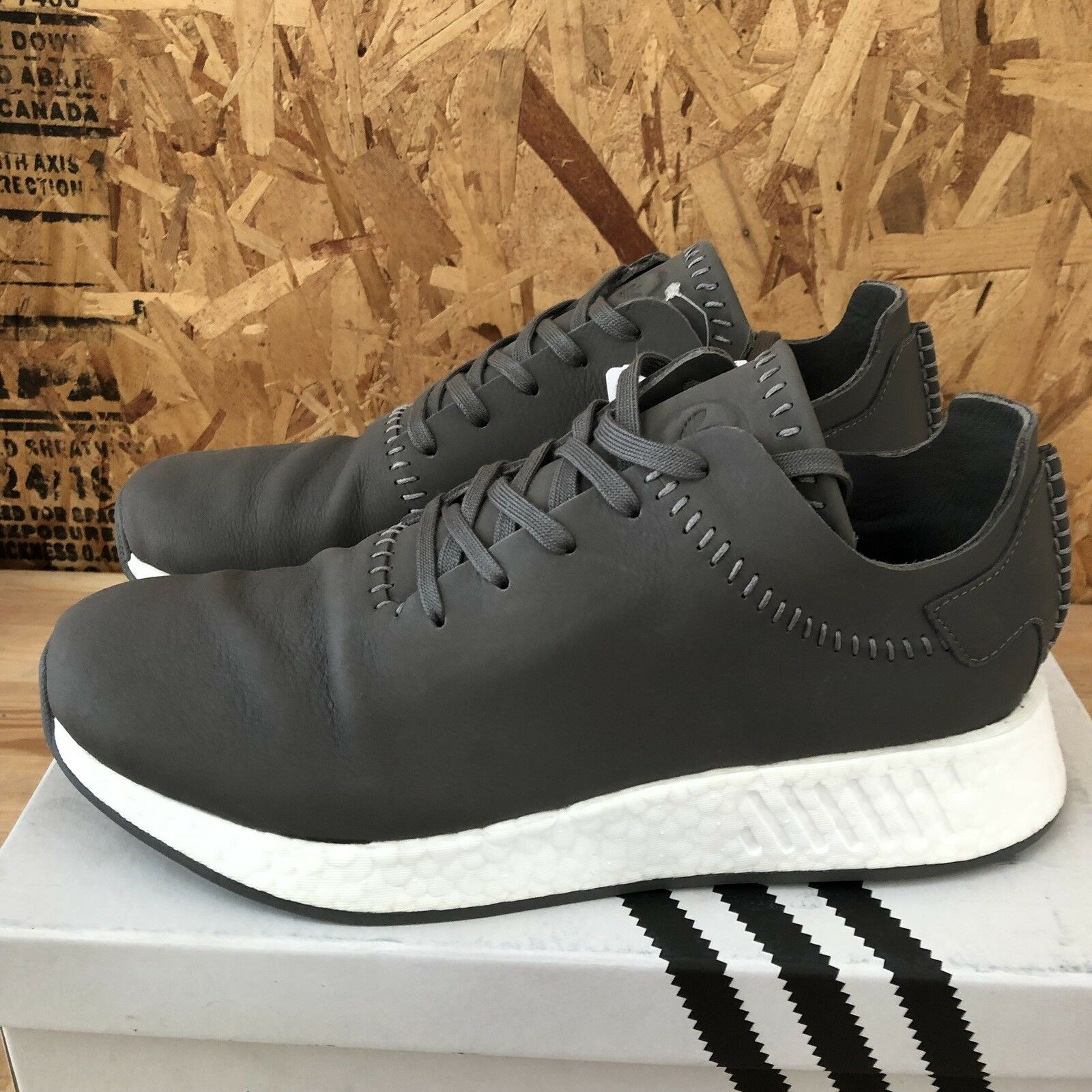 5b07be87b8 Adidas WH NMD BB3117 Ash Grey White Size 10 New R2 - nuduqw864-new ...