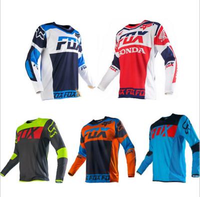 Neu FOX T-shirts Racing Downhill Jersey Mountainbike Motorrad Radfahren Trikots+