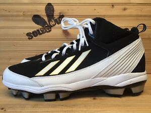 New-Adidas-Poweralley-TPU-Mid-Chase-Headley-PE-Baseball-Cleats-sz-12-5-Sample