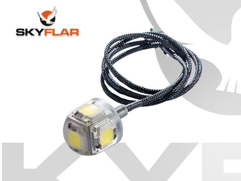 SKYFLAR Paramotor Strobe Light upto 5 miles visibility 50W power LED. NO BATTERY