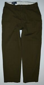"Lauren Lauren 34 Ralph cotone verde Polo Prospect in Olive Pant Cotton Pant casual oliva Prospect 34""x30"" Casual Green Pantaloni Ralph Pants Polo Oqvwfxv"