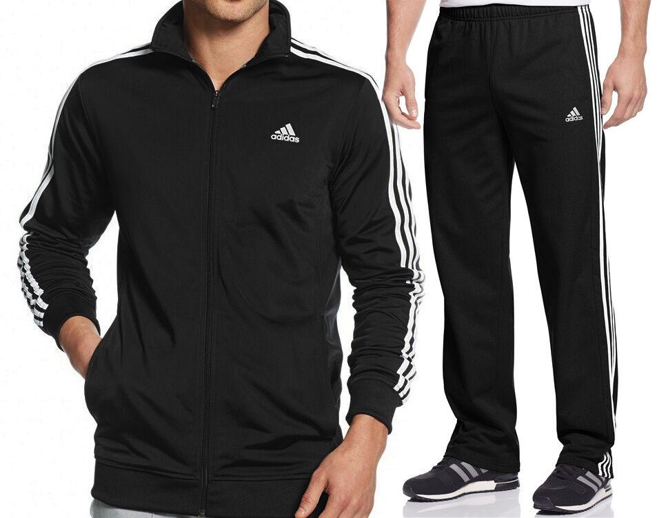 Adidas Uomo Abbinato Sport Suite  Tricot Pantaloni Tuta & Giacca - Versioni
