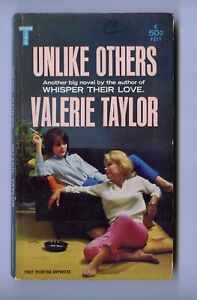 UNLIKE OTHERS Lesbian Vintage sleaze GGA paperback MIDWOOD by VALERIE TAYLOR