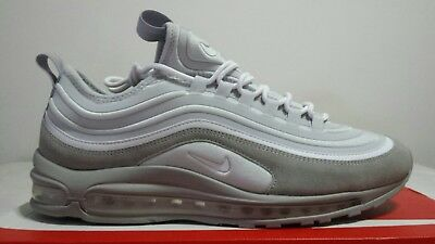 NIKE AIR MAX 97 ULTRA N.47 US 12,5 NEW MODEL LIMITED EDITION SILVER CHIAMA | eBay