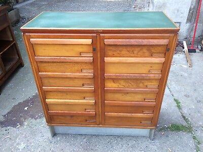 Schedario Ufficio Vintage : Mobili collection on ebay!
