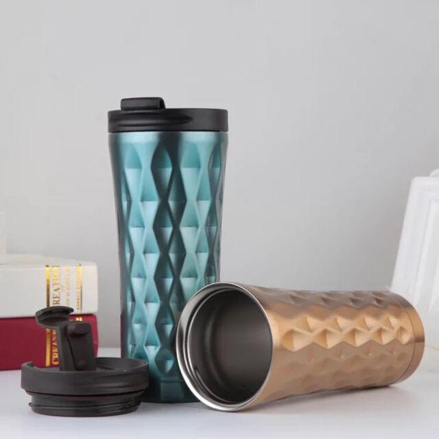 Thermo Mug Cup Tracel Bm6 500ml Wall Creative Steel Coffee Car Double Stainless TK3lFJ1cu