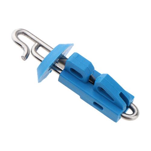 5pcs Splash Down Fishing Bait Clip Locking Lock Jigging Lure Hook
