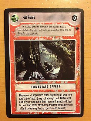 Star Wars CCG BB Limited Dagobah At Peace NON-MINT SWCCG