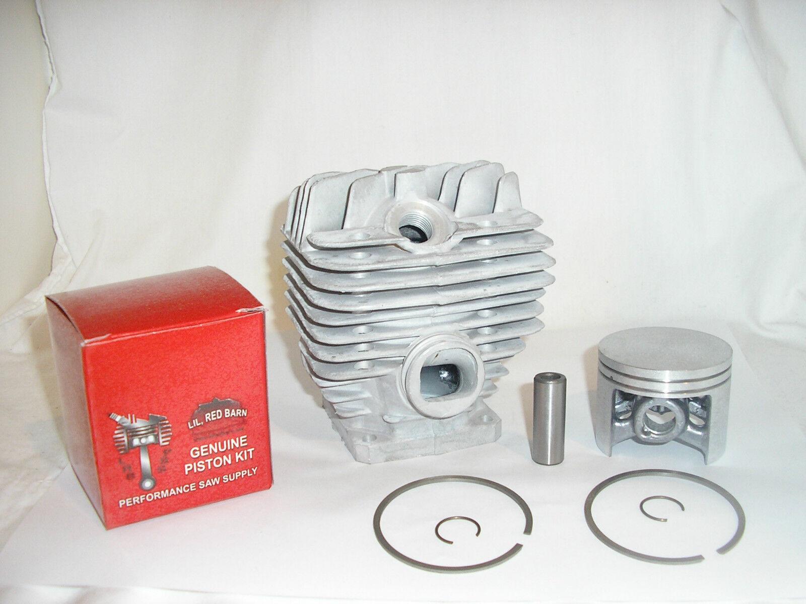 STIHL 044 CYLINDER & Pistón Kit 50MM Kit, 12MM Pasador del pistón reemplaza 1128 020 1227