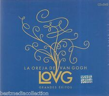SEALED La Oreja De Van Gogh CD NEW + DVD Grandes Exitos Version DELUXE BRAND NEW