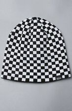 Vans WHICH WAY NOW Reversible Beanie NEW Checkers CHECKS Checkerboard BEENIE Cap