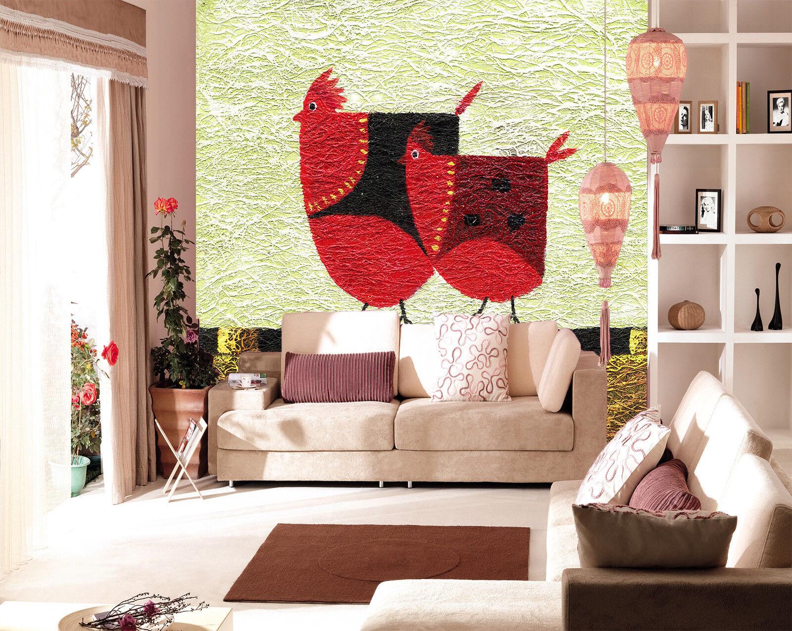 3D Cartoon Henne 865 Tapete Tapete Tapete Wandgemälde Tapete Tapeten Bild Familie DE Summer   Gewinnen Sie das Lob der Kunden  905298