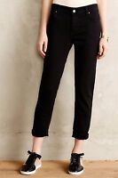 Velvet By Graham And Spencer Jenny Relaxed Jeans Pants Size 24 Black (tar) Color