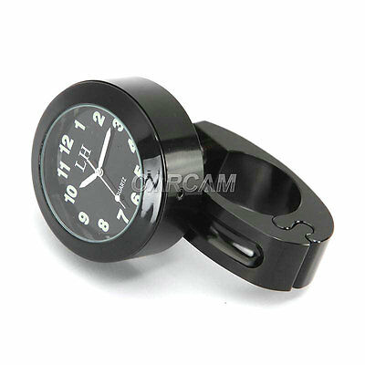 BK Handlebar Mount Clock For Harley Davidson Sportster Nightster Roadster 1200