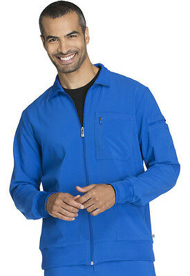 Cherokee Infinity Zip Front Warm-up Jacket 2391A RYPS Royal Free Shipping