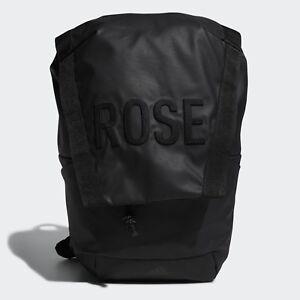 660a7d6389a4 Image is loading adidas-D-Rose-Backpack-DJ2249-Basketball-Bag-Black-