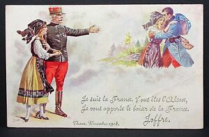 France-Military-Patriotic-Postcard-Ak-Military-France-I-5734