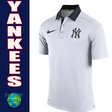 Nike Men's 2XL MLB 2017 New York Yankees Authentic Collection Elite Polo Shirt