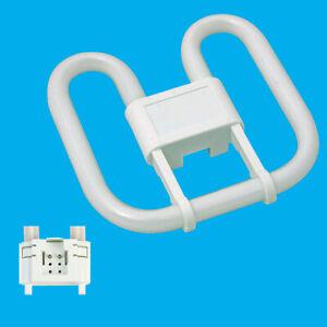 3x 16W GR10Q 4 pin Energy Saving 3500K White 2D Light Bulb Double D