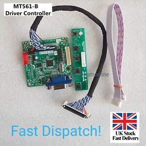 "Utile MT561-B UNIVERSALE LVDS MONITOR LCD Driver Controller Board 5V 10"" - 42"" M"