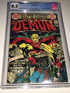 Demon-1-CGC-8-5-VF-DC-1972-1st-Appearance-of-the-Demon-Etrigan