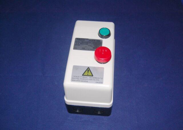 AC 220V Coil 12.5A-18A 3 Phase Control Motor Magnetic Starter HUEB-16K