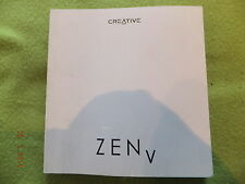 Creative Zen V - Five - Instruction Manual - 18 Languages