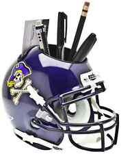 EAST CAROLINA PIRATES NCAA Schutt Mini Football Helmet DESK CADDY
