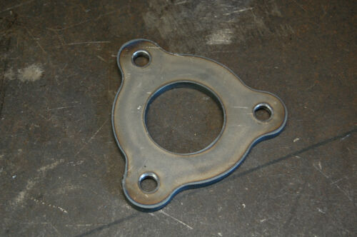 """3 Bolt 1.5/"""" Tube Flange 3//8/"""" holes tubing exhaust roll cage fabricator"""